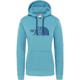 The North Face Drew Peak Pullover Hoodie Damen storm blue
